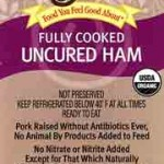Wegman's Organic Deli Ham Recalled for Foreign Materials