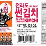 5000 Years Foods Cabbage Kimchi Recalled For Possible Listeria