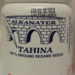 Alkanater Tahina Recalled in Canada For Possible Salmonella