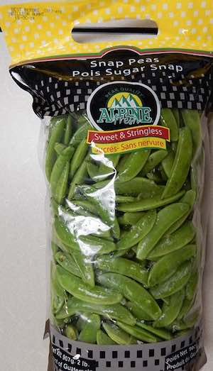 Alpine Snap Peas Cyclospora Recall