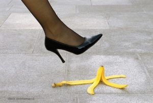 Blooper banana peel
