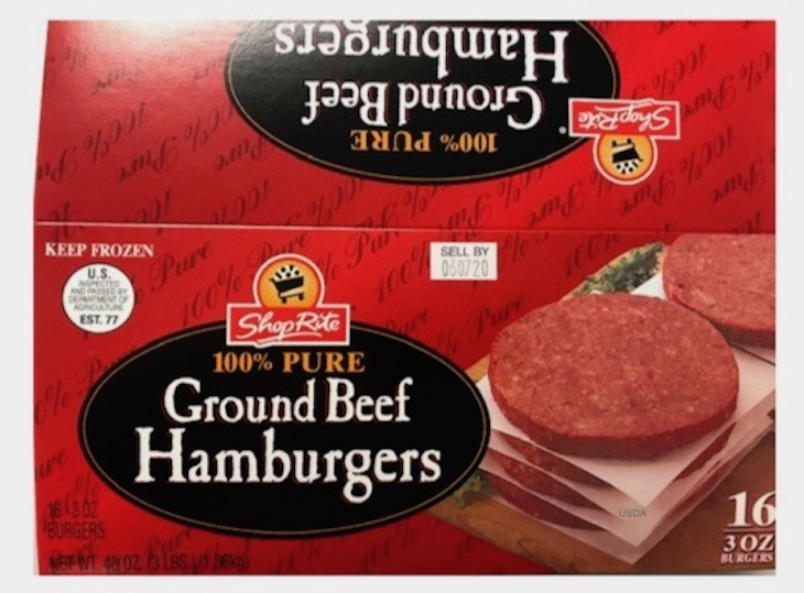 Ground Meat Products Recalled For Possible E. coli O157:H7
