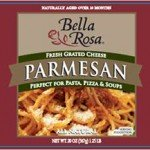 Bella Rosa Grated Parmesan Cheese Recalled for Undeclared Egg