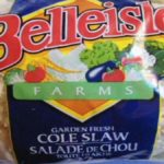 Recall of Belleisle Foods Cole Slaw For Possible Listeria Updated