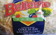Belleisle Farms Cole Slaw Recalled For Possible Listeria