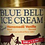 Recalled Blue Bell Ice Cream for Sale on Craigslist