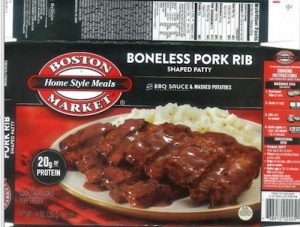 Boston Market Pork Recall