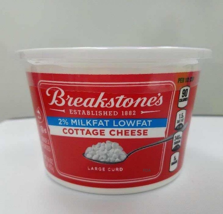 Breakstone's Cottage Cheese Recalled For Foreign Material