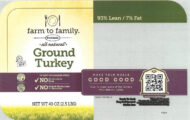 Butterball Ground Turkey Recalled For Foreign Material