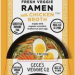 Cece's Veggie Fresh Veggie Ramen With Chicken Broth Recalled
