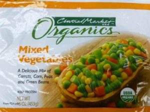 Central Market Mixed Vegetables Listeria Recall