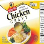 Canned Chicken Gravy Recalled for Under Processing