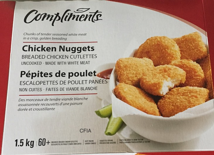 Compliments Chicken Nuggets Salmonella Recall
