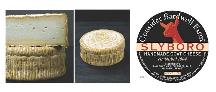 Consider Bardwell Farm Recalls Three Cheeses For Possible Listeria