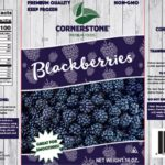 Cornerstone Frozen Blackberries Recalled For Possible Norovirus