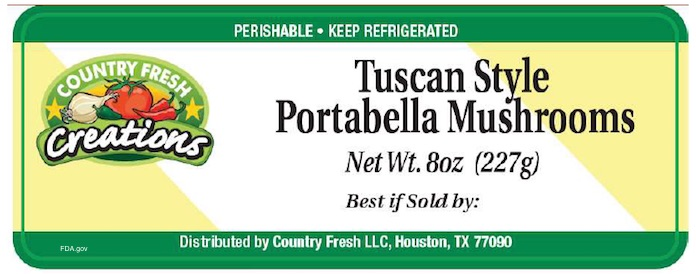Country Fresh Listeria Product Recall