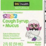 DG:health Naturals Cough Syrup Recall