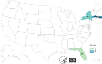 Deli Meat Listeria Monocytogenes Outbreak Sickens 10 in 3 States