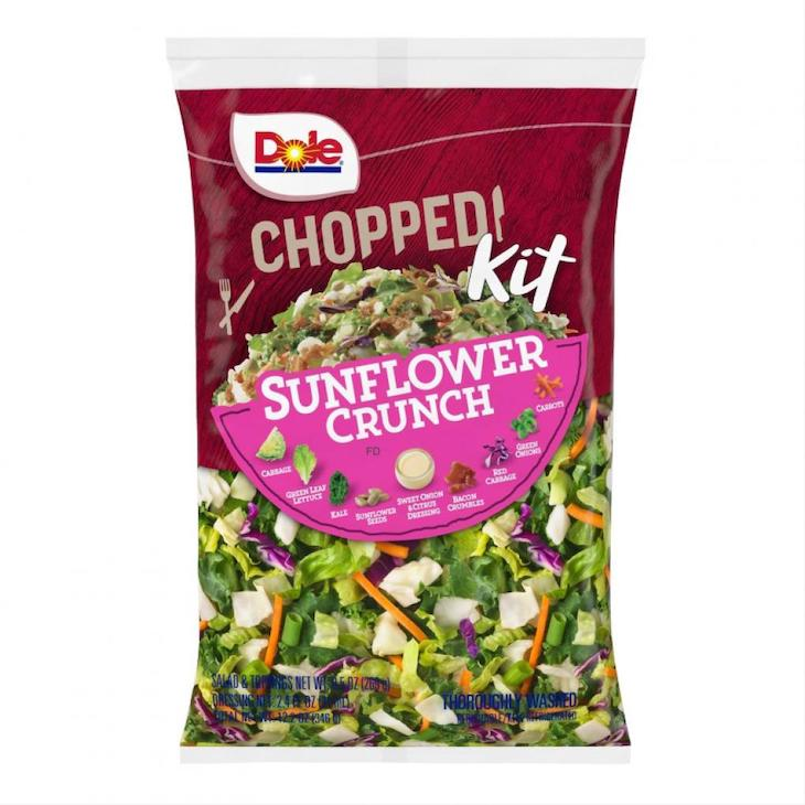 Dole Sunflower Crunch Chopped Salad Kit Recalled For Allergens