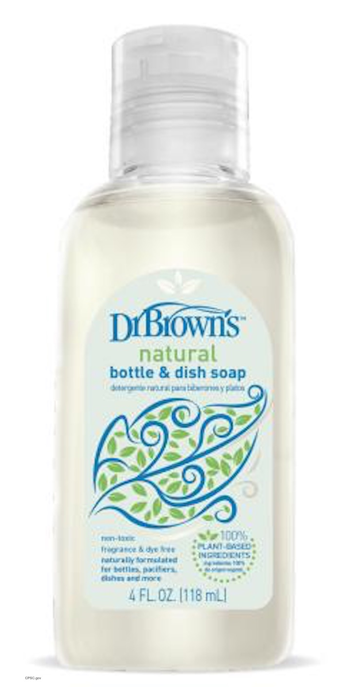 Dr. Brown Soap Recall