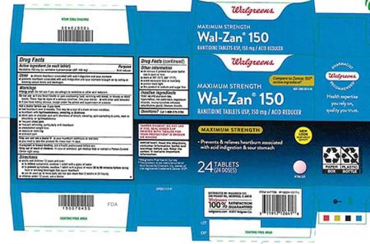 Dr. Reddy's Ranitidine Products Recalled For Possible Carcinogen