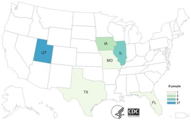 Clover Sprouts E. coli O103 Outbreak Updated: 39 Sick, 2 Hospitalized