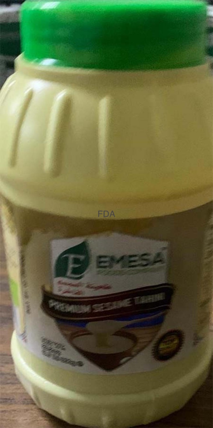 Emesa Premium Sesame Tahini Recalled For Possible Salmonella