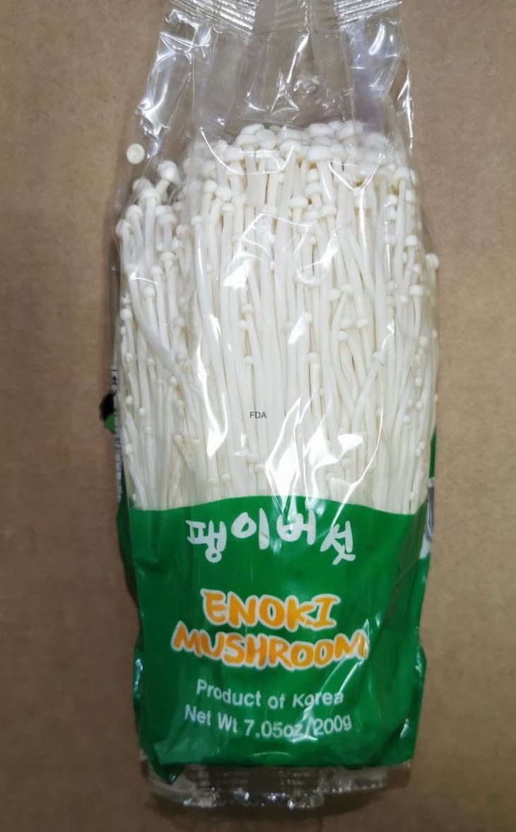 Sun Hong Foods Enoki Mushrooms Recalled For Possible Listeria: Possible Outbreak