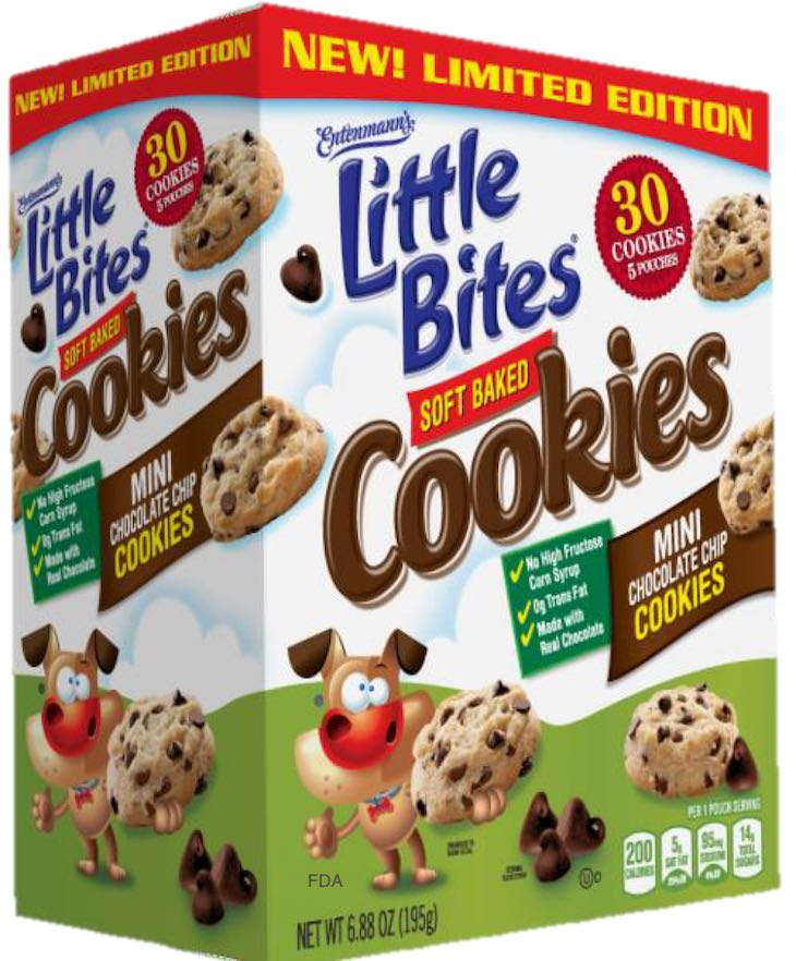 Entenmann's Little Bites Soft Baked Cookies Recalled For Foreign Material