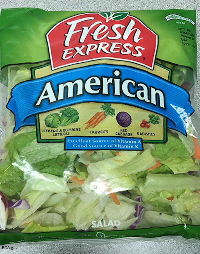 Fresh Express Salad Allergen Recall