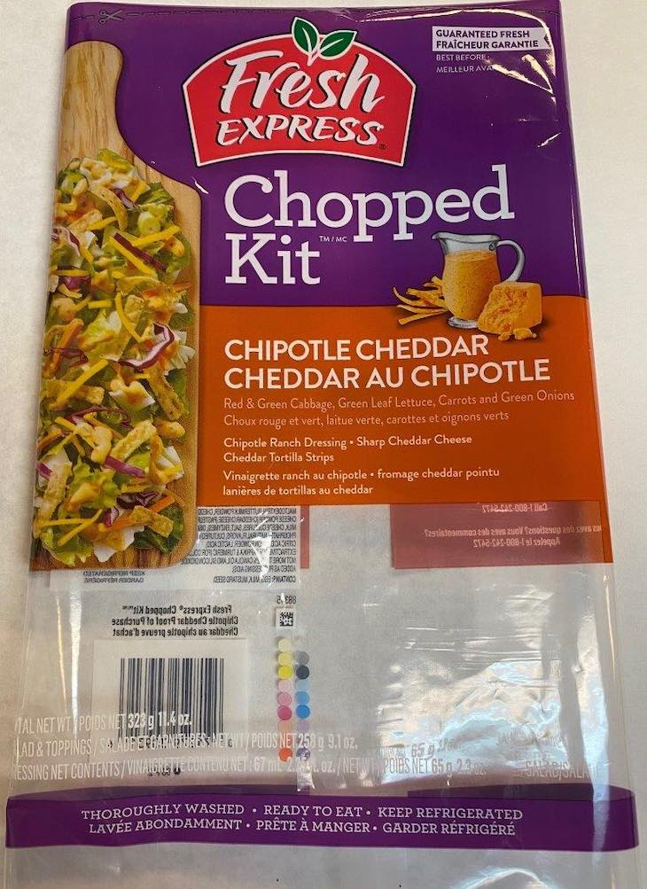Recall of Fresh Express Salads in Canada For Cyclospora Updated