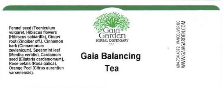 Gaia Balancing Tea Recalled For Possible Salmonella Contamination
