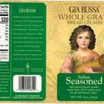 Gia Russa Bread Crumbs Recalled For Undeclared Nuts
