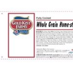 Gold Kist Farms Chicken Patties Recalled for Possible Foreign Material