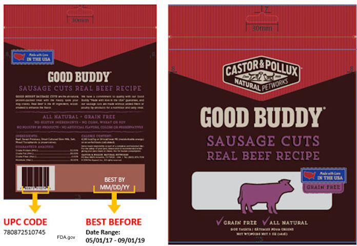 Good Buddy Beef Treats Recall