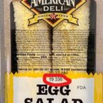 Great American Deli Egg Salad Sandwich Recalled For Listeria