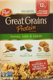 Great Grains Cereal Recall