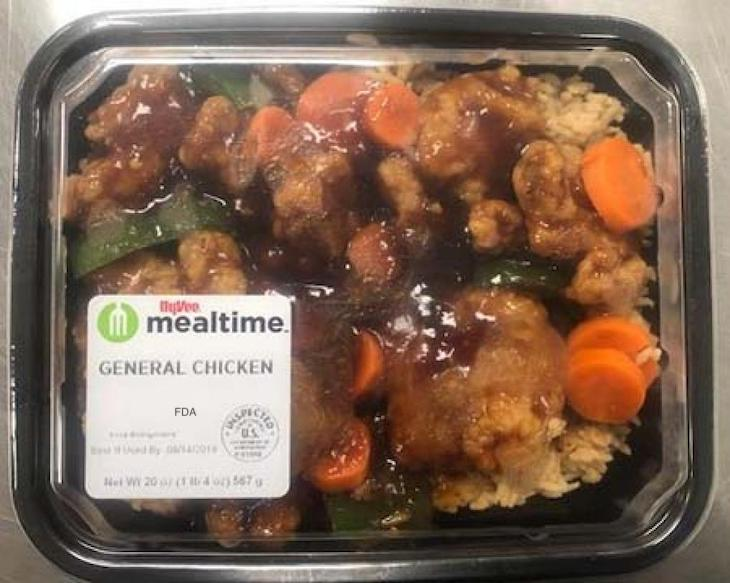 Hy-Vee Mealtime Asian Entrees Recalled For Undeclared Milk