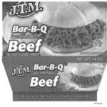 Barbecued Beef Products Recalled for Foreign Material Contamination