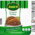 Jennie-O Ground Turkey Salmonella Outbreak Recall