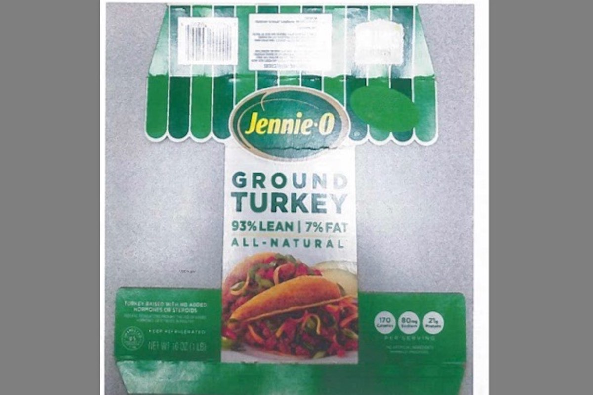 Who Sold Jennie-O Ground Turkey Salmonella