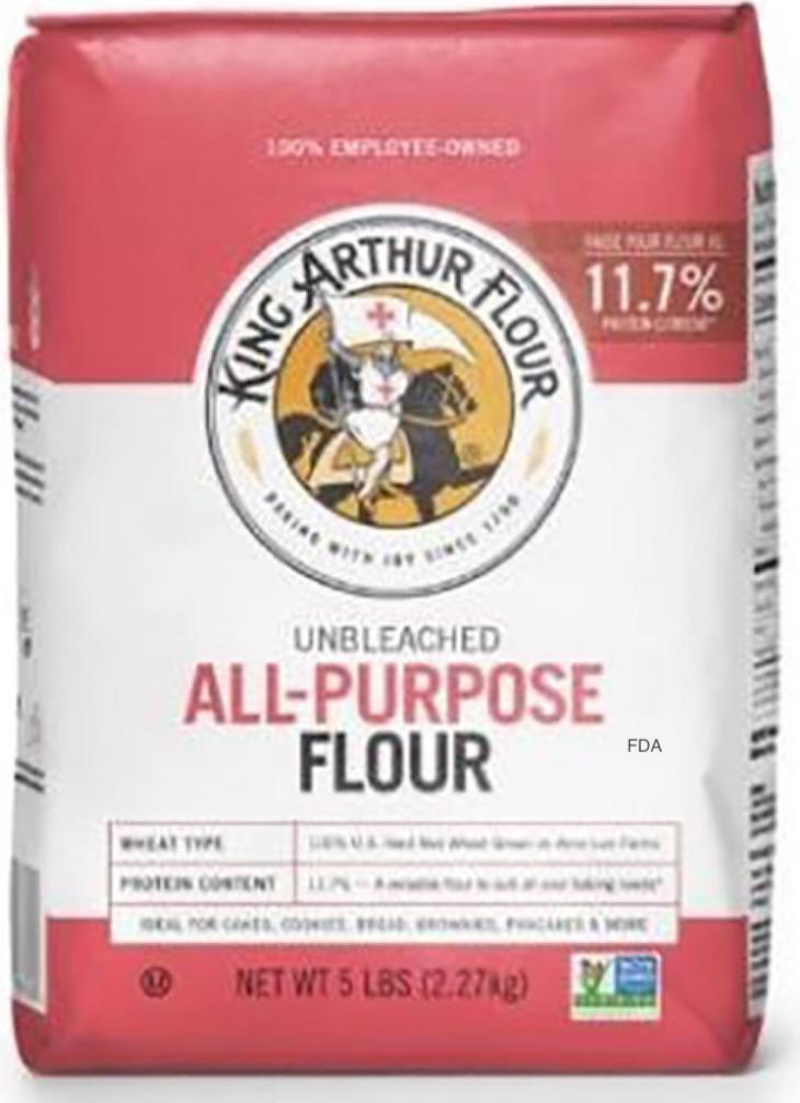 King Arthur Expands Recall of Unbleached Flour For E. coli O26