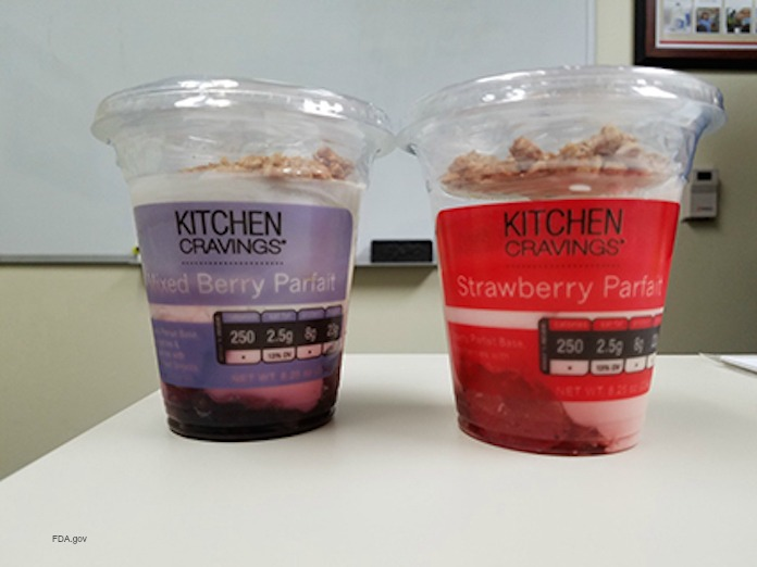 Kitchen Cravings Parfait Recall