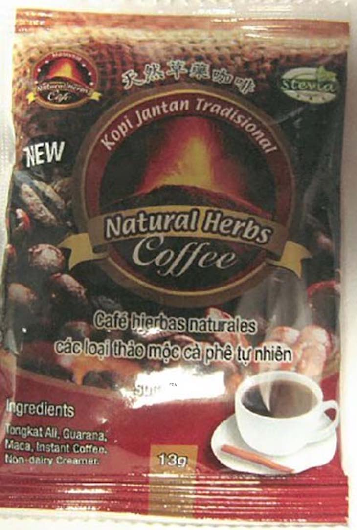 Kopi Jantan Natural Herbs Coffee Recall