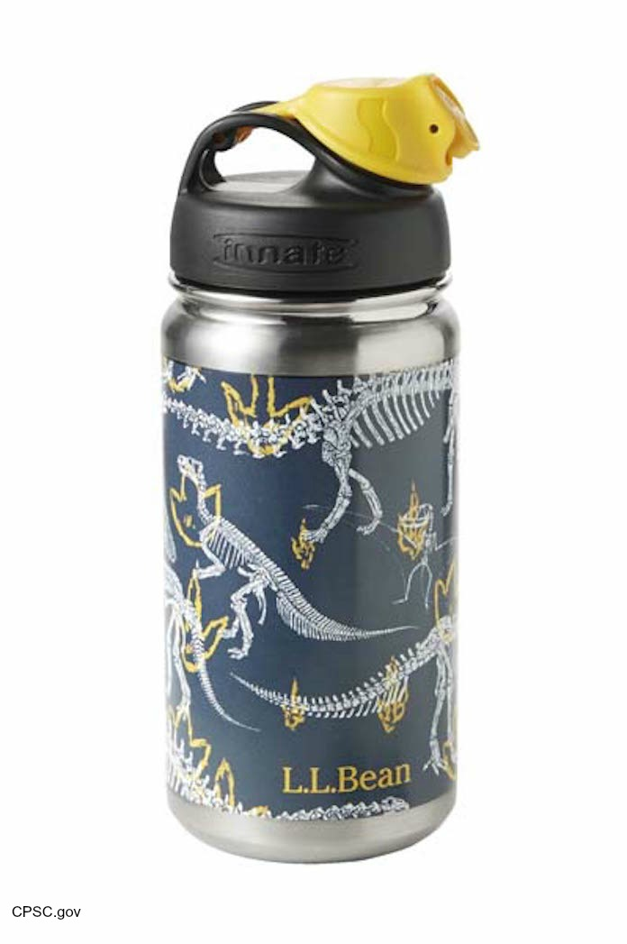 LLBean Water Bottle Lead Recall