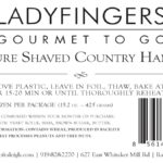 Ladyfingers Country Ham Rolls Johnston County Ham Recall Listeria s
