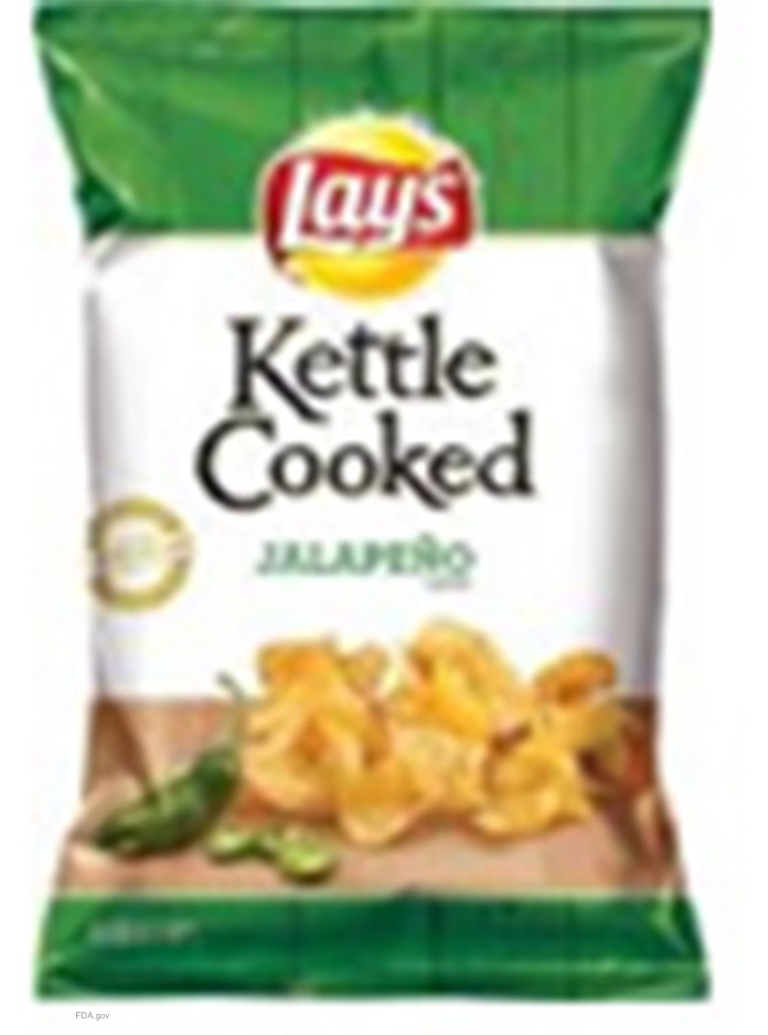 Lay's Kettle Cooked Potato Chips Salmonella Recall