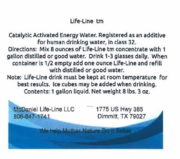 Life-Line Water Recall