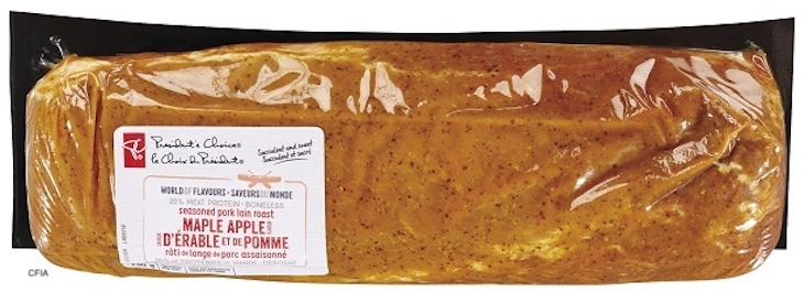 PC Maple Apple Seasoning Pork Loin Recalled For Allergen