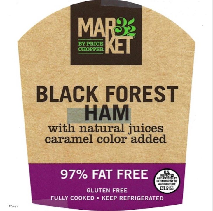 Market 32 by Price Chopper Ham Recall